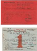 TITRE DE CONGE - 1953 - Documents