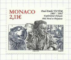 Monaco N°2574 Neuf Avec Charnière (sous Faciale) - Monaco