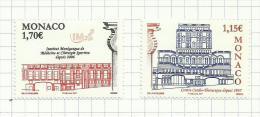 Monaco N°2582, 2583 Neufs Avec Charnière* (sous Faciale) - Unused Stamps