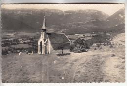 VESANCY 01 - La Chapelle De RIANT MONT - CPSM Dentelée Noir Et Blanc PF 1954 - Ain - Other Municipalities