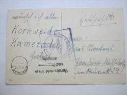 1940, STRALSUND , Feldpostkarte Mit Truppensiegel - Briefe U. Dokumente