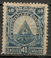 Timbres - Amérique - Honduras - 1890 - 40 Centavos - - Honduras