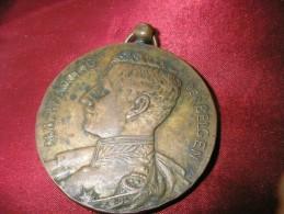 ALBERT 1ER 1920 BRONZE - Royal / Of Nobility