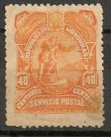 Timbres - Amérique - Honduras - 1892 - 40 Centavos - - Honduras