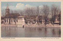 25- AUDINCOURT (DOUBS)- LE DOUBS Et La PLACE Du TEMPLE - Unclassified