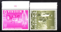 Nigeria 1963 FAO Freedom From Hunger Campaign MNH - Nigeria (1961-...)