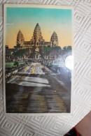 BB - VIETNAM - Temple ANGKOR VAT  - Vue Générale - Fédération Indochinoise - Cambodge - Cambodia