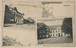 Simmern Schloss  Schlosstrasse Mit Dem Postamt - Simmern