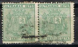 Pareja Sellos CUBA, Colonia Española, Num 33 º - Cuba (1874-1898)