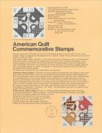 USA 1978, Scott # SP 446.  American Quilt - 1971-1980