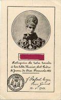 Granada - Santino Antico PADRE SAN JUAN DE DIOS Con RELIQUIA (Tela Tocada) 1923 - OTTIMO H10 - Religione & Esoterismo