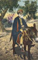 Palestine -  Bethléhem - Marchand Sur Son âne - M. Chauwin Le Havre - Palestine