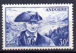 Andorre N° 137 Neuf  X  Cote Y&T  21,50  €uro  Au Quart De Cote