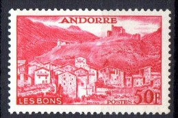 Andorre N° 152  Neuf  X  Cote Y&T  2,30  €uro  Au Quart De Cote
