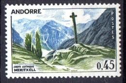 Andorre N° 160  Neuf  X  Cote Y&T  28,00  €uro  Au Quart De Cote