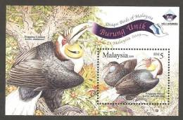 Malaysia (2009) - Block -  /  Birds - Aves - Oiseaux - Vogel - Vogels