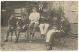 Carte Photo. Militaria. Soldats & Officiers. Cachets Militaires, Soltau 1916 - Krieg, Militär