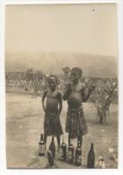 """Foto/Photo. Congo. Enfants Africains & Bouteilles De Bière. """"Charleville 1925, Les Petits Malafutiers"""" - Afrique"""