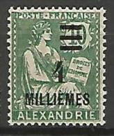 ALEXANDRIE  N� 66 NEUF** TB