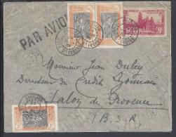 COTE-D´IVOIRE - 1939 - LETTRE DE ABIDJAN A DESTINATION DE SALON DE PROVENCE - FR - - Brieven En Documenten