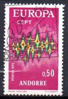 Andorre N° 217  Oblitéré  Cote Y&T  4,60  €uro  Au Quart De Cote