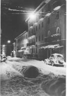 CAVALESE  Via Bronzetti Sotto La Neve Viaggiata Albergo De Paoli - Trento