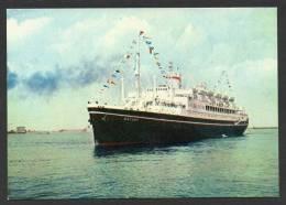 SH238) MS Batory - Polish Ocean Liner - Paquebots