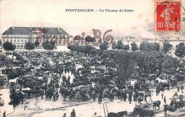 (25) Pontarlier - Le Champ De Foire - 2 SCANS - Pontarlier