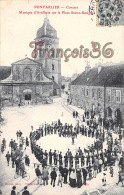 (25) - Pontarlier - Concert Musique D'Artillerie Sur La Place Sainte-Benigne - 2 SCANS - Pontarlier