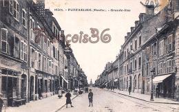 (25) - Pontarlier - Grande-Rue - Boulangerie, Bakery - 2 SCANS - Pontarlier
