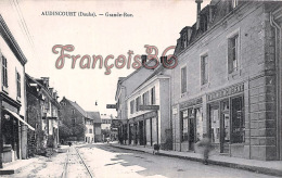(25) - Audincourt - Grande-Rue -Biscuiterie - Librairie - 2 SCANS - Autres Communes