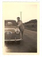 Photo Originale  Homme Devant Son Auto AUSTIN A30 - Cars