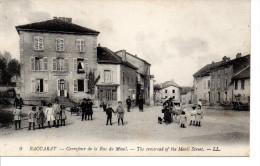 54 BACCARAT Carrefour De La Rue Du Ménil, Belle Animation - Baccarat