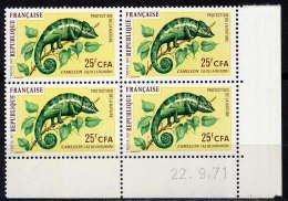 REUNION - N°399** - CAMELEON - Réunion (1852-1975)