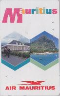 Télécarte Japon AVIATION - AIR MAURITIUS / Ile Maurice Afrique - AIRLINE AIRLINES Japan Phonecard - Avion 665 - Flugzeuge