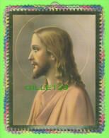 BRODERIE D´IMAGES RELIGION - IMAGES DU CHRIST DÉCORÉES AU CROCHET - 18X23 CM DIMENSION - - Vintage Clothes & Linen
