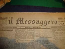 IL MESSAGGERO Quotidiano Di Roma Martedì 5 Luglio 1881 Anno III Redazione Via Del Bufalo 125 Roma - Books, Magazines, Comics