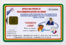 Bénin 50U Conférence à Trois. Utilisée - Bénin