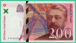 France - 200 Francs - Eiffel - N° P 0749366687 - 1999 -  Sup - 1992-2000 Dernière Gamme