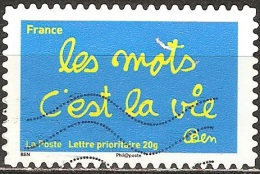 France - 2011 - Sourires Par L´humoriste Ben - YT Adhésif 611 Oblitéré - France