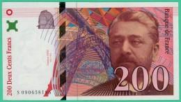 France - 200 Francs - Eiffel - N° S 090658196 - 1999 -  Sup - 200 F 1995-1999 ''Eiffel''