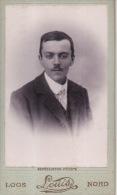Photo Ancienne CDV Vers 1890 Portrait D'un Homme En Costume Cravate Loos Louis Nord - Photographs