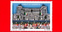 Nuovo - ITALIA - 2006 - MNT - Omaggio Ai Caduti Di Nassiriya - 0,60 € • Vittoriano - 1946-.. République