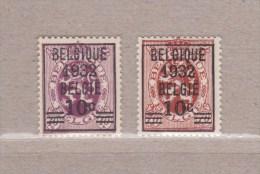 1932 Nr 333-34* Postfris Met Scharnier.Heraldieke Leeuw Van 1929.OBP 7 Euro. - 1929-1937 Heraldischer Löwe