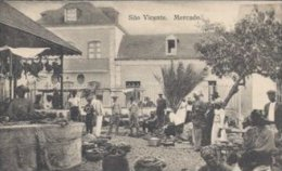 Cape Verde.  São Vicente. Mercado.  S-1652 - Cape Verde