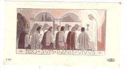 Image De Communion La Cène Ego Sum Panis Vivus1952 - Imágenes Religiosas