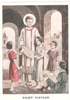 Grande Image De Saint VIATEUR Joliment Illustrée - Imágenes Religiosas