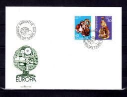 """LIECHTENSTEIN 1976 FDC """" EUROPA 1976 """" En Parfait état. - Europa-CEPT"""