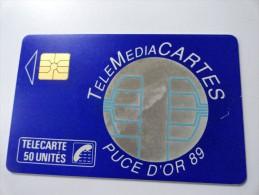 RARE : TELEMEDIACARTES PUCE D' OR 89  (USED CARD) - Francia