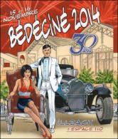 BEDECINE 2014 à ILLZACH Autocollant Adhésif DENAYER Festival Bande Dessinée Strip Comics - Comics